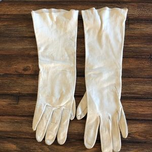 1940s Vintage leather Riding Gloves